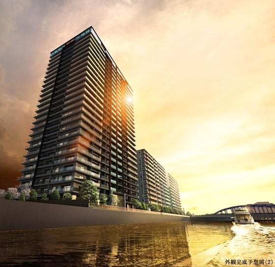 品川イーストシティタワーの建物写真メイン1