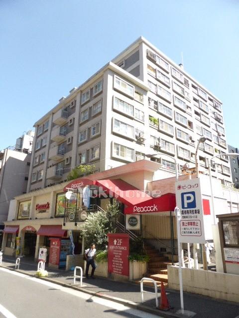 麻布十番中央マンションの建物写真メイン1